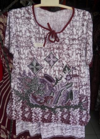 baju daster batik pekalongan