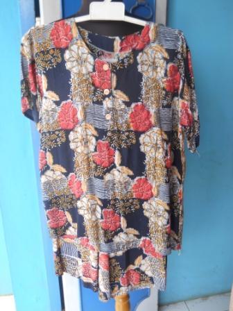 baju daster batik solo