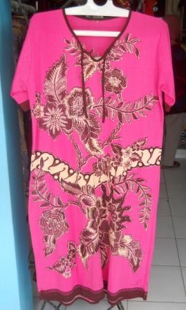 baju daster batik tidur