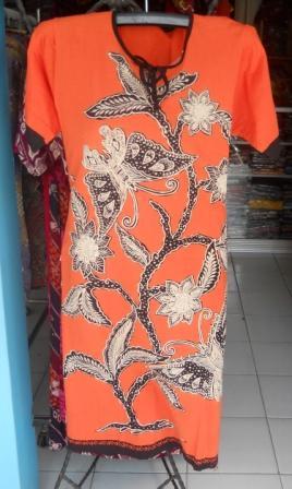baju daster batik wanita