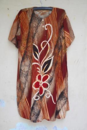 daster batik jumbo