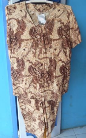 daster batik kalong
