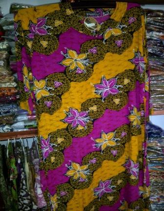 daster batik jumbo - Ibu Kapti 081548776197