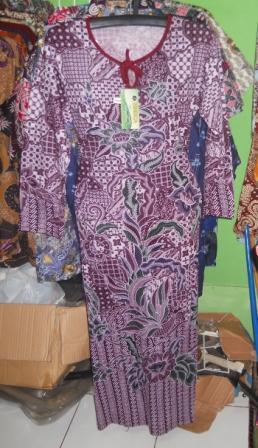 produsen baju daster batik modern